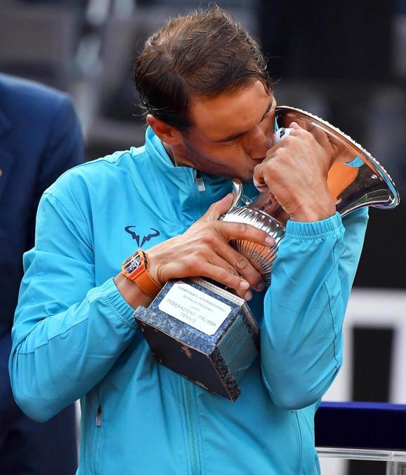 Rafael Nadal slavi u prestonici Italije