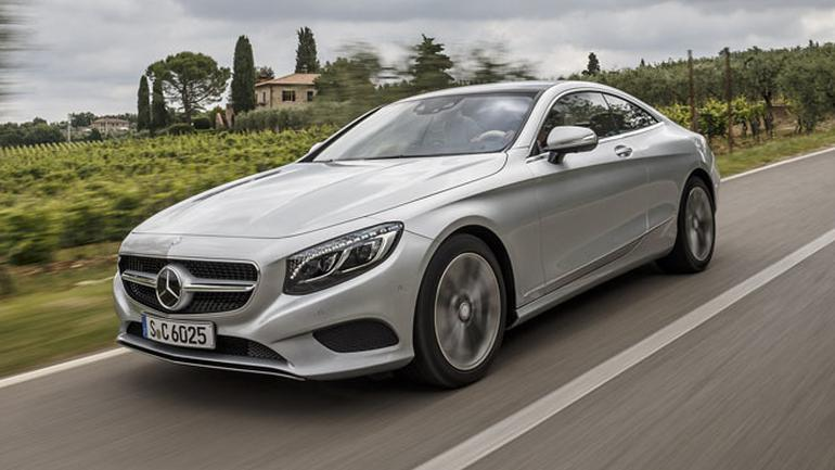 Mercedes Klasy S Coupe - Komfort absolutny