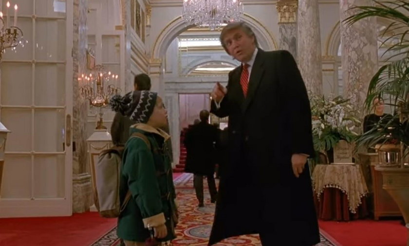 """Donald Trump zagrał z Kevinem w """"Kevin sam w Nowym Jorku"""""""
