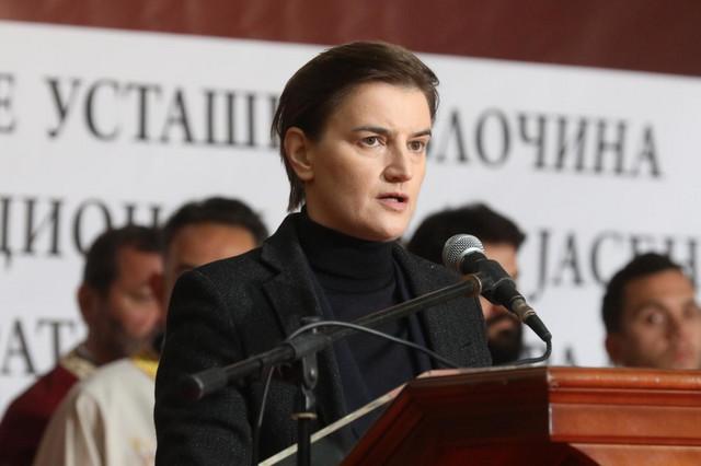 Brnabić danas na pomenu žrtvama Jasenovca