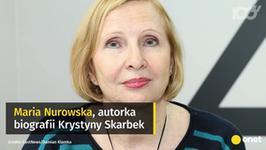 """Maria Nurowska ponownie skomentowała spektakl """"Wojna, moja miłość"""""""