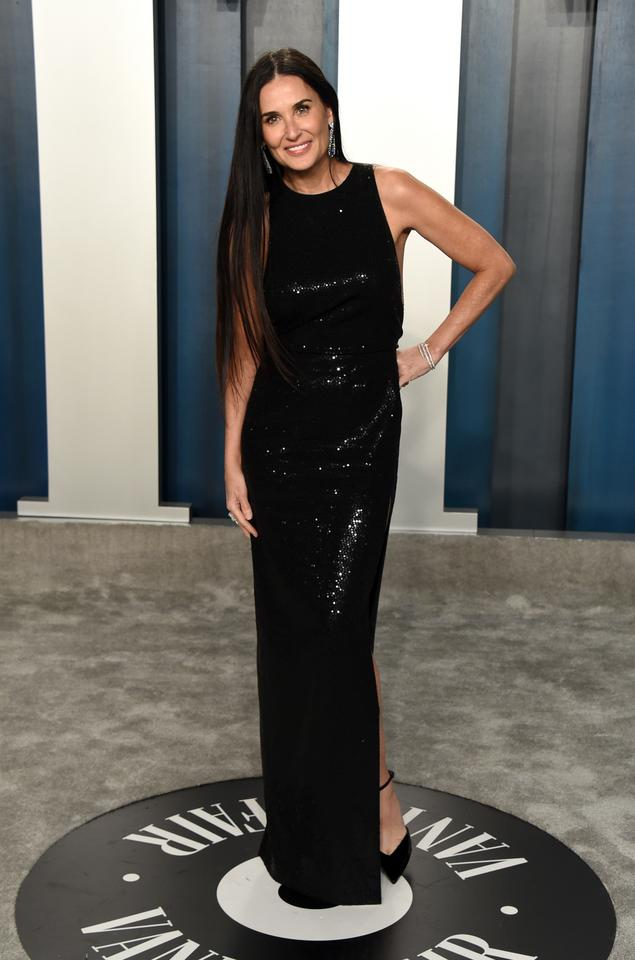 Oscary 2020: Demi Moore na Vanity Fair Oscar Party