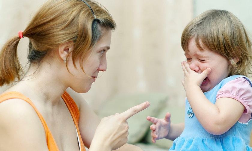 Gdy dziecko wpadnie w histerię lepiej nie zaogniać problemu