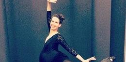 Szok! W 9. miesiącu ciąży tańczy w balecie