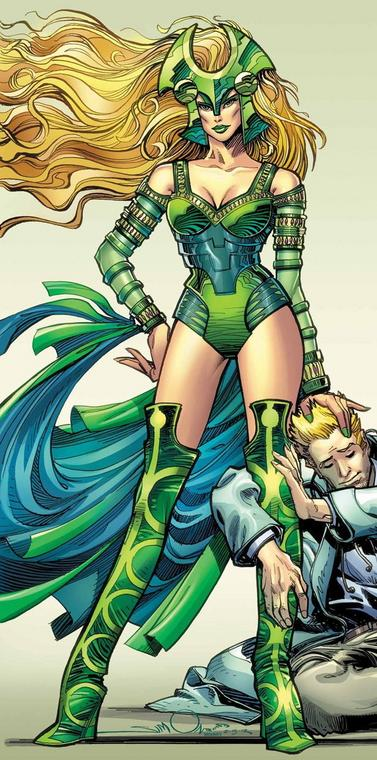 Amora Enchantress w komiksach