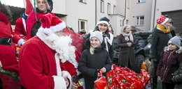Mikołaj w Mysłowicach zajechał w cadillacu