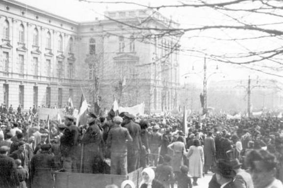 Demonstracije u Beogradu 27. marta 1941. godine