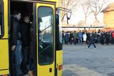 Autobus na liniji 700, oko 6.40