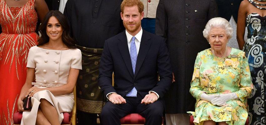 Królowa straciła cierpliwość do wnuka i jego żony. To się Meghan i Harry'emu nie spodoba
