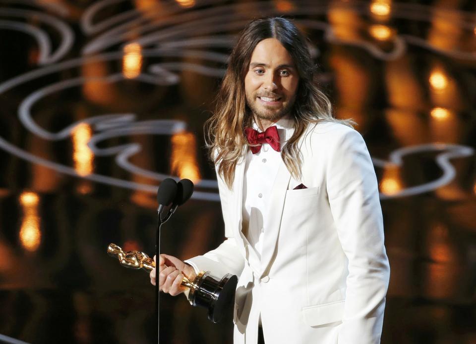 """Oscary 2014: Jared Leto ze statuetką za rolę w filmie """"Witaj w klubie"""""""