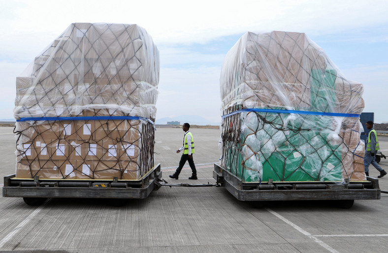 Jack Ma's first round of medical donations to Africa arrived in Ethiopia in March [BI]