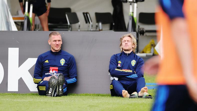 Robin Olsen i Emil Forsberg