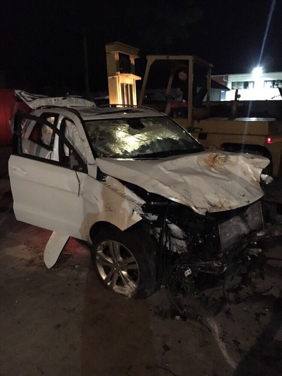 Automobil u potpunosti uništen