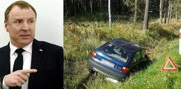 Mija rok od wypadku limuzyny szefa telewizji. Czy sąd boi się Jacka Kurskiego?