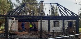Pożar altany. Dwie osoby nie żyją