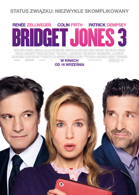 """Bridget Jones 3"": plakat"