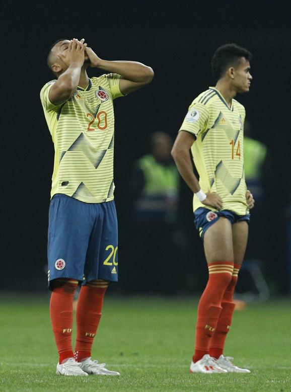 Fudbalska reprezentacija Kolumbije u neverici
