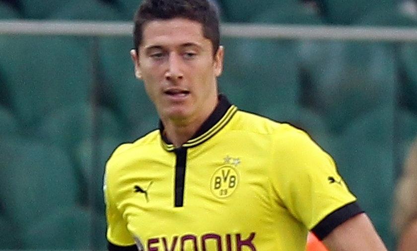 Robert Lewandowski w Borrusia Dortmund