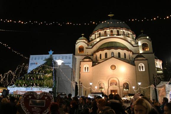 Božićno seoce kod Hrama
