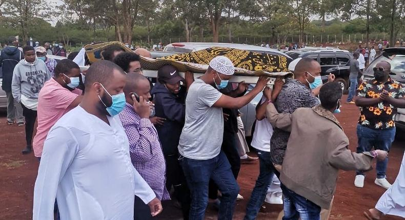 Photos from the Burial of Ibrahim 'Johnny' Ahmed