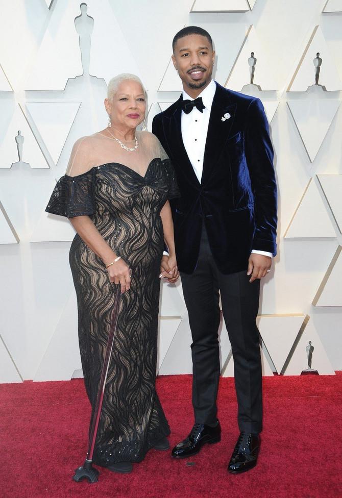 Majkl Bi Džordan sa majkom Donom
