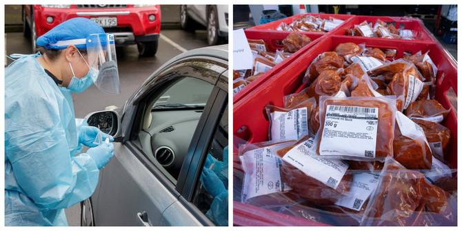 Nove mere stupile na snagu u Oklandu: sumnja se da su novo širenje zaraze pokrenula pakovanja smrznute hrane iz uvoza