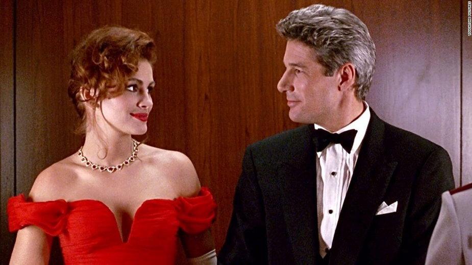 """Richard Gere i Julia Roberts w filmie """"Pretty Woman"""""""