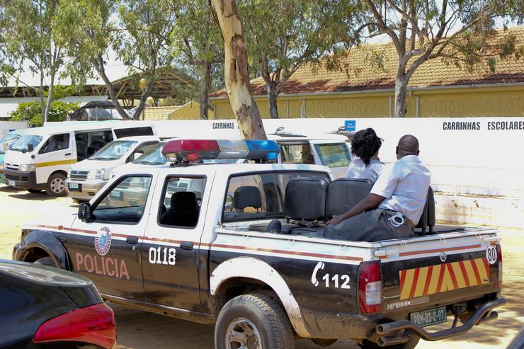 Maputo Mozambik policija EPA STRINGER