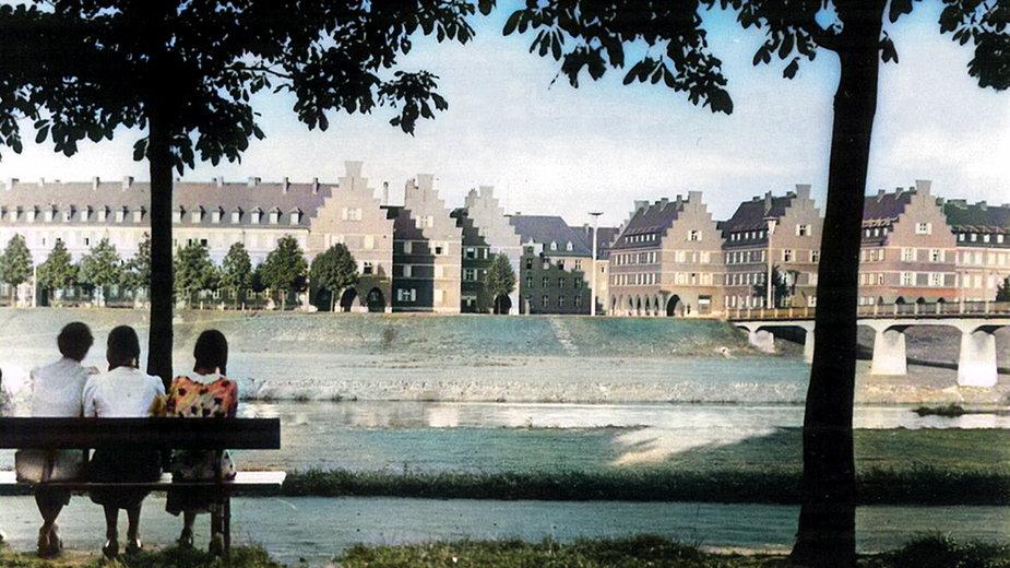 Zasieki (Forst) - pozostałości poniemieckiego miasta rozebranego po wojnie