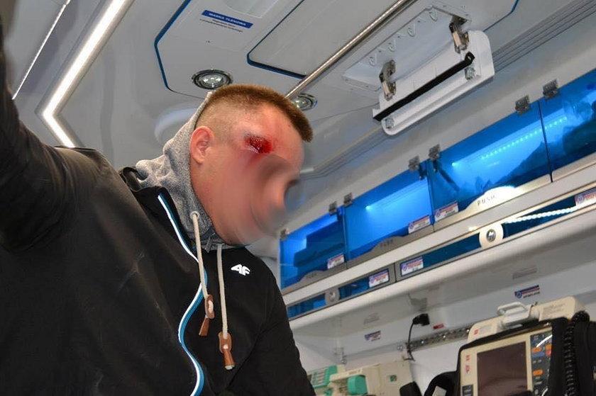 Zamieszki pod komendą w Miliczu