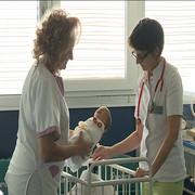 Kraljevo 01 - Beba u kraljevačkoj bolnici