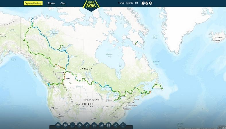 Trasa The Trans Canada Trail