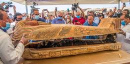 Sensacyjne odkrycie archeologiczne pod Kairem