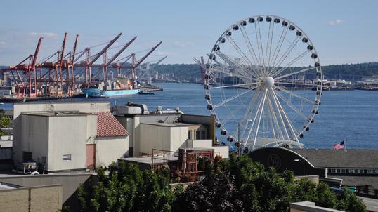 Seattle z ponad 40