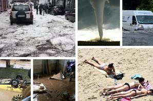 U junu smo preživeli POTOP, TORNADA I SNEG, a evo šta meteorolozi najavljuju za JUL I AVGUST