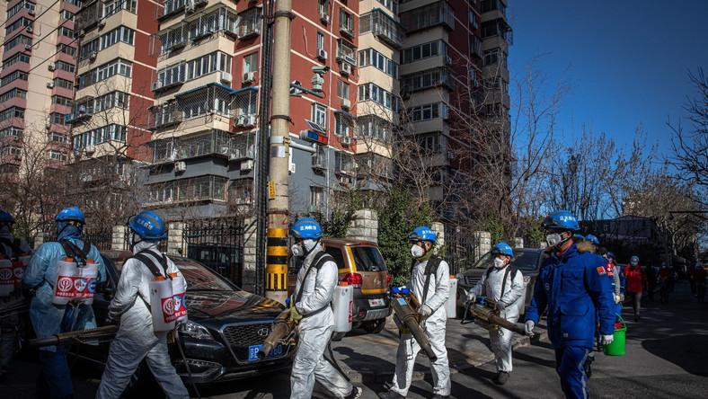 Walka z koronawirusem w Chinach