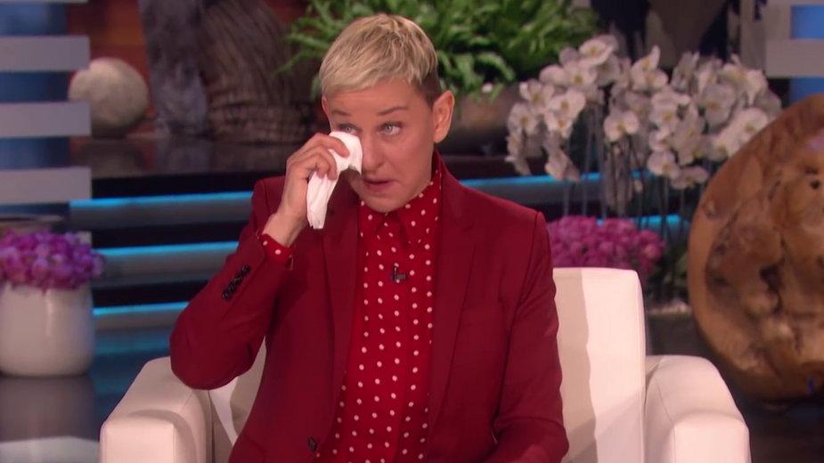 Ellen DeGeneres na planie swojego talk-show