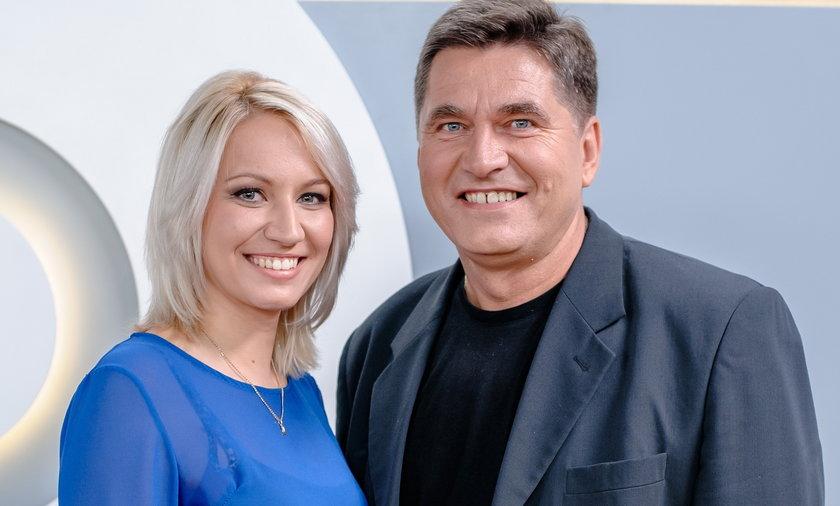 Sławomir Świerzyński z córką