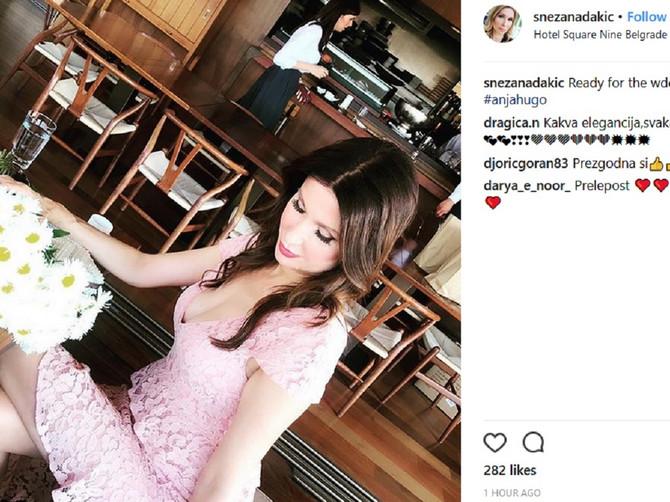 Bliski susret bivših supružnika: Snežana Dakić i poznati biznismen na istom venčanju