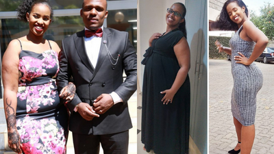 110Kgs to 70Kgs- Ben Kitili's wife Amina Mude shares her tremendous weight loss Journey