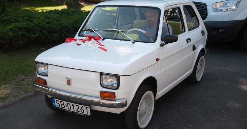 Legendarny Fiat 126P z Bielska Białej, który trafił do amerykanskiego aktora Toma Hanksa.