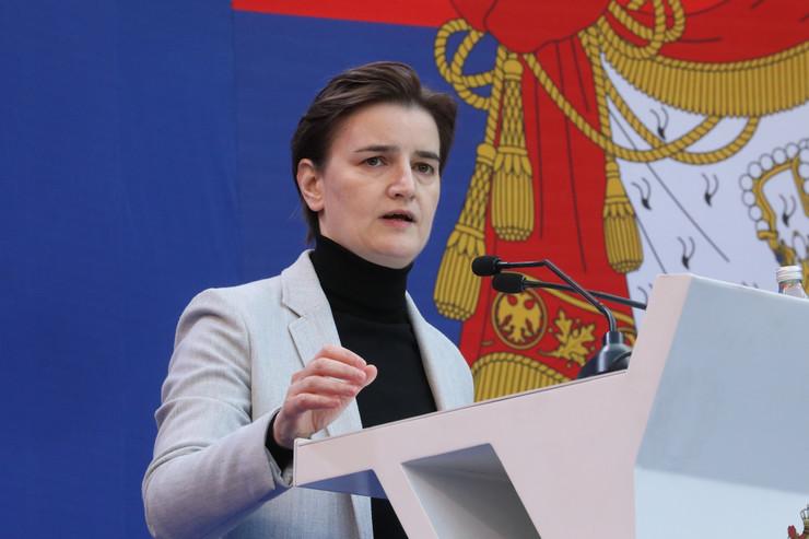 Ana Brnabić TANJUG VLADA REPUBIKE SRBIJE SLOBODAN MILJEVI