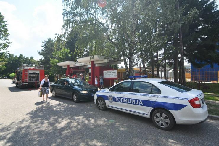 Evakuisani bazeni na Sajmištu u Novom Sadu