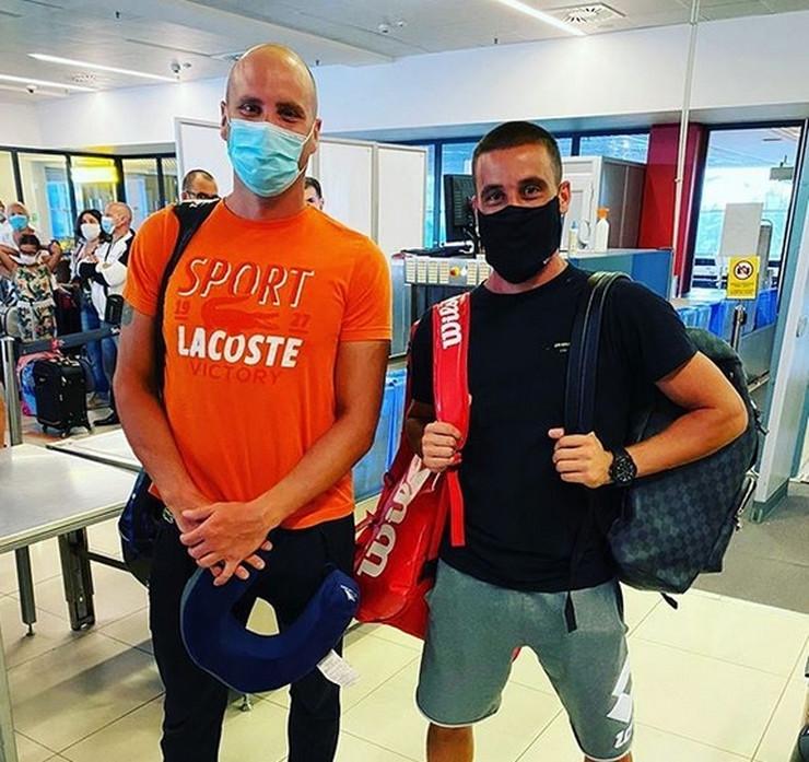 Petar Popović i Damir Džumhur