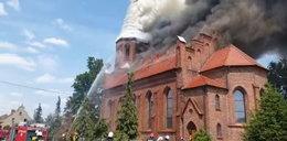 Co za tragedia w Boże Ciało! Spłonął zabytkowy kościół