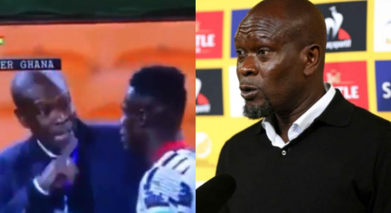 'I swear, score or else…': Video shows CK Akonnor 'threatening' Kwame Poku during SA game