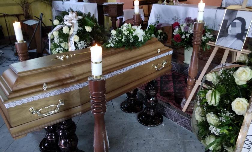 Dyrektorka szkoły zabrała głos na pogrzebie zamordowanej Magdy