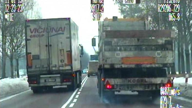 """""""Wal po osobówce"""" - zalecają instruktorzy OZPTD kierowcom aut ciężarowych"""