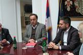sastanak u nacelstvu pirotskog okruga -v. d. direkrtora Koridora Srbije, predsednik Privredne komore, predstavnik ,Aktora