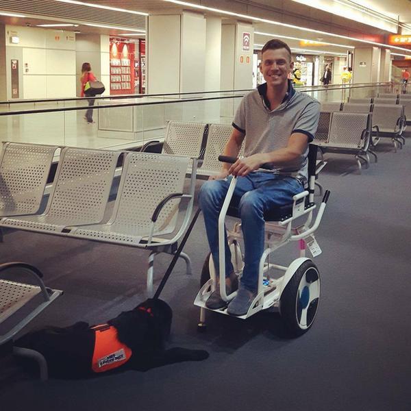 Na lotnisku w Warszawie